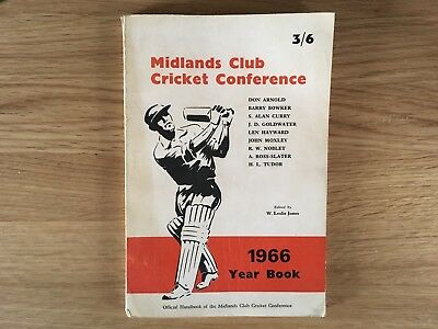 Midlands Club Cricket Conference 1966 Year Book