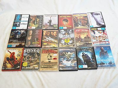 Bulk Lot of 18 DVD's Mix Of Genres Action, Comedy, Sci-Fi