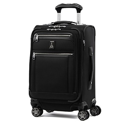 """Travelpro Luggage Platinum Elite 20"""" Carry-on Expandable Business Spinner w/USB"""