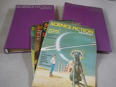 Complete Set of Science Fiction Monthly - VERY RARE - WITH TRANSFER!!!