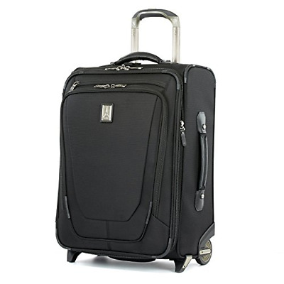 """Travelpro Luggage Crew 11 20"""" Carry-on Expandable Business Plus Rollaboard w/USB"""