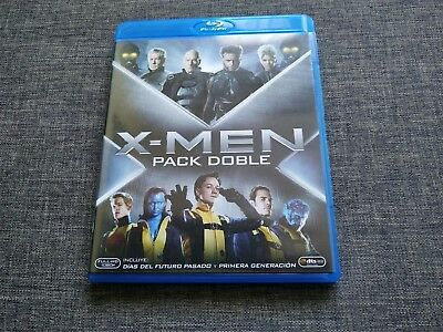 BLURAY - X-MEN - Dias del futuro pasado y primera generacion - Pack doble