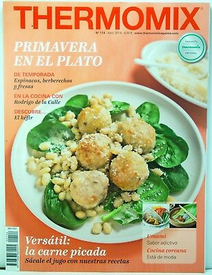 Revista Magazine Thermomix Spain Nº 114 Abril 2018