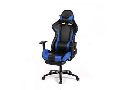 Blue Racing Gaming Chair High back Computer Recliner Office Chair RC1
