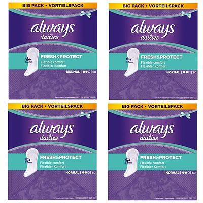 Always Dailies Culotte Liners Normal Frais & Protège Odeur Neutralisant- Paquet