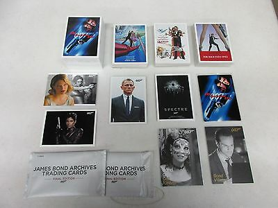 2017 James Bond Archives Final Edition Mini-Master Set w/ Expansion & Throwbacks