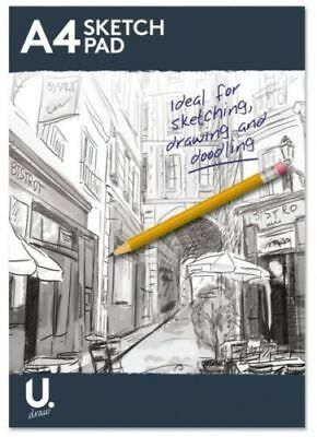 Sketch Book Drawing Pad White Cartridge Paper A4 Artist Draw Art paper Practice