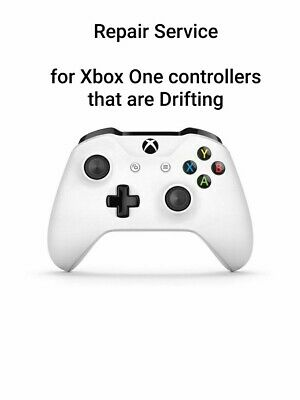 Stick drift repair service for Official Microsoft Xbox One controllers