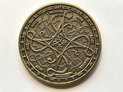 Geocoin Tengwar Antique Bronze LE (AB)