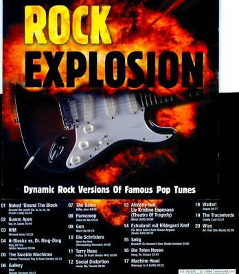 Sampler Rock Explosion – Hard & Heavy Coverversionen von Rock- und Poptiteln