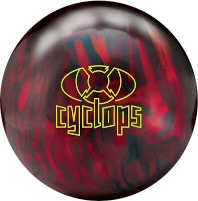 New Radical Cyclops Pearl Black/Red Bowling Ball 15 pounds 1st Quality