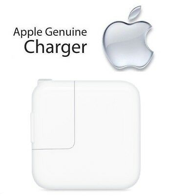 100% Genunie Apple iPad 6th Gen - 12W USB Power Adapter Wall Charger (A1401)