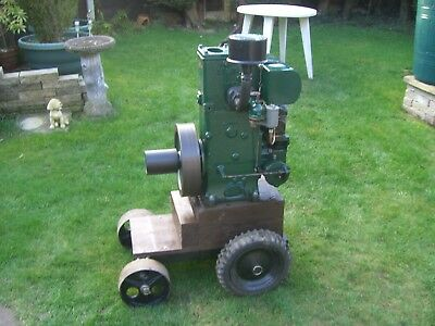 lister d stationary engine 2hp used