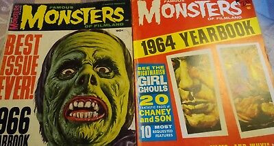 Famous monsters of filmland magazine