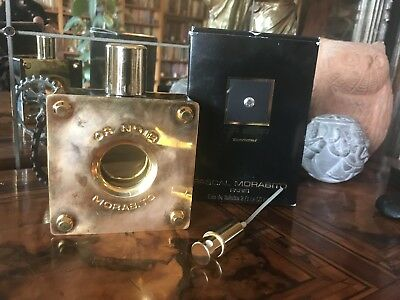 Rare! Or Noir Pascal Morabito 60 ml EDT Spray Vintage Numered Bottle Gold Plated