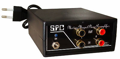 PHONO PREAMP STEREO Turntable  RIAA PREAMPLIFIER SPA-1 BL