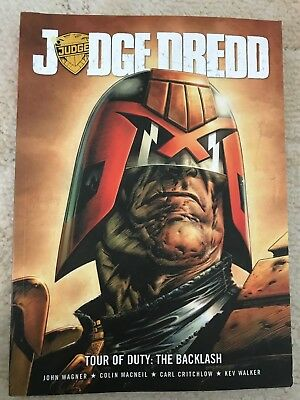 Judge Dredd - Tour of Duty: The Backlash (2000 AD collection), VGC