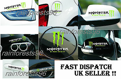 Monster Car Stickers Decals, Graphics&Adhesives For U BMW/ Audi/Ford/ Honda etc