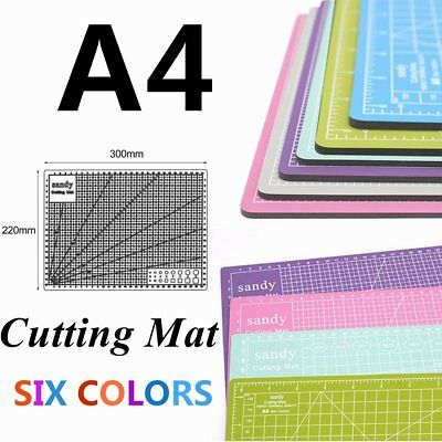 A4 Hobby&Craft Cutting Mat 300mm*220mm 1cm Square Grid Line For Fast Cutting ZI