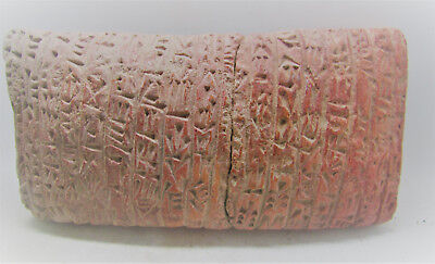 Very Rare Ancient Near Eastern Clay Tablet Early Form Of Writing 2000Bc