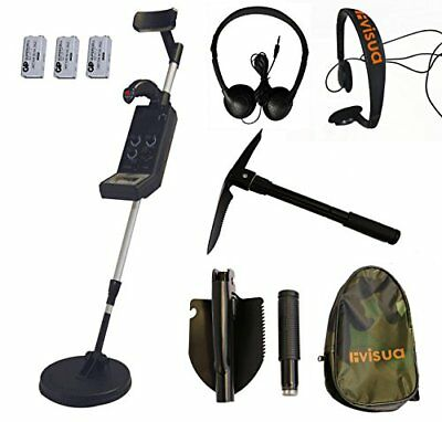Visua Professional Discriminating Metal Detector Detector Kit: H/Phones Batts