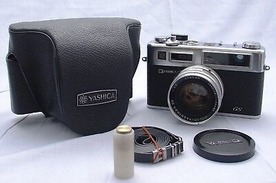Yashica Electro 35 GS, Range Finder camera, 45mm 1:1.7 Lens V Good* UK