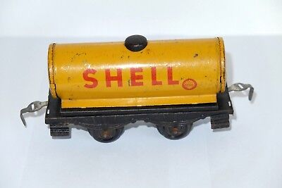 Alter Spur 0 Kesselwagen, made in US-Zone Germany, Tin Plate
