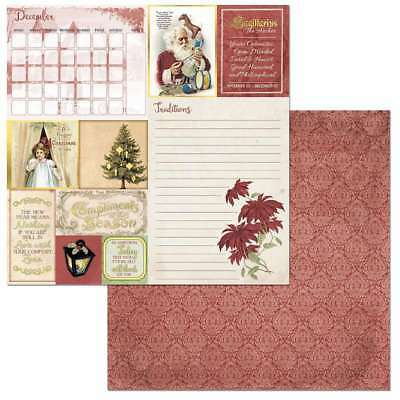 """On This Day Double-Sided Cardstock 12""""X12"""" December 665573072573"""