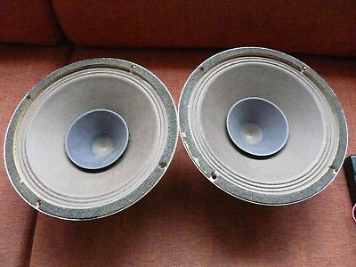 Philips 9710m/01 full range speakers with alnico magnets for low power tube amps