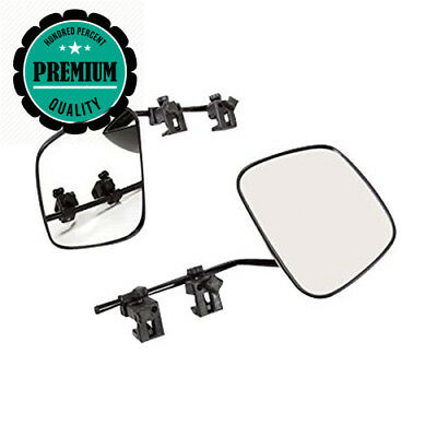 Milenco Grand Aero Convex Caravan Towing Mirror 2 Pack