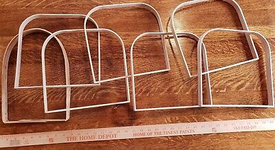Lot of BASKET MAKING Weaving supplies 7 assorted sizes handles  Free ship!
