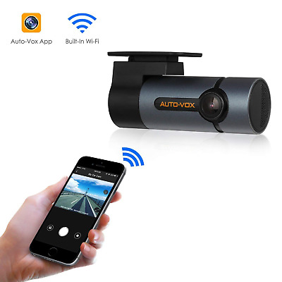 AUTO-VOX Upgraded WiFi Dash Cam D6 Pro FHD 1080P Dashboard Camera Recorder...