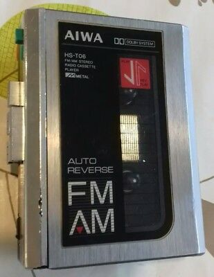 Aiwa HS T06 Vintage Personal Stereo