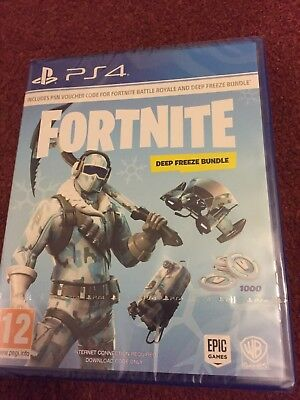 Fortnite Deep Freeze Bundle (PS4) | BRAND NEW & SEALED