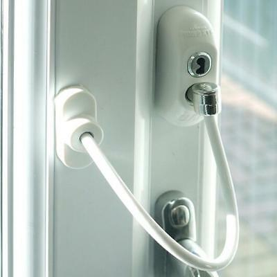 Window Door Restrictor Kids Baby Safety Security Cable Lock Catch Wire Y2