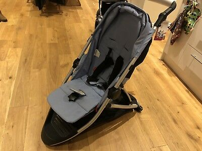 Phil&Teds Dash Pushchair - Replcement Frame, Parcel Shelf & Seat in Blue Marl