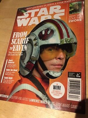 STAR WARS INSIDER THE OFFICIAL MAGAZINE ISSUE #183 Sept/Oct 2018 NEW TITAN