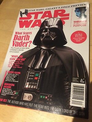 STAR WARS INSIDER THE OFFICIAL MAGAZINE ISSUE #182 August 2018 NEW TITAN