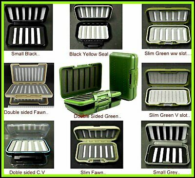Trout Fly BOXES For Trout Fishing Flies Trout Rainbow Trout Salmon Flies EBay