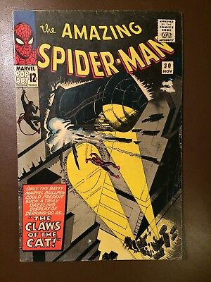 Marvel comics : AMAZING SPIDER-MAN # 30 ,1965, VG Very Good condition