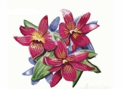 20 Floral Bouquet Designs for Machine Embroidery - On a CD