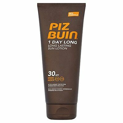 Piz Buin 1 Day Long Lotion SPF30 High, Sonnenschutz, 1er Pack (1 x 200 ml)