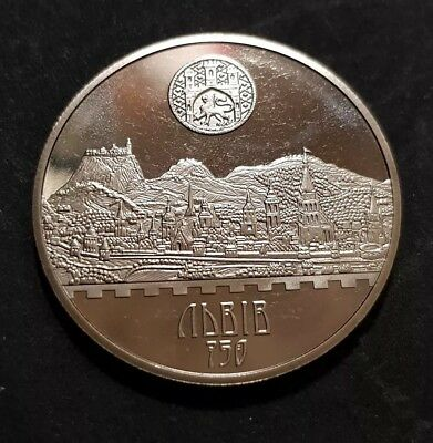 Ukraine 2006 coin - 5 Hryven UAH - 750th Anniversary of the City of Lviv