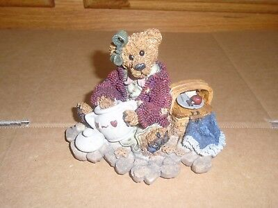 Boyds Bears Velma Q Berriweather The Cookie Queen 1997 Private Issue 01996-41