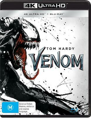 Venom | Blu-ray + UHD + UV - Blu Ray Region B Free Shipping!