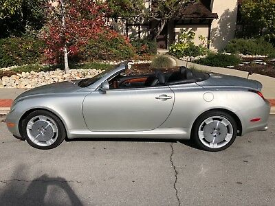 2005 Lexus SC Luxury TOPLESS 1-OWNER GARAGED DEALER SERVICED ALL RECORDS ORANGE COUNTY NO CORROSION