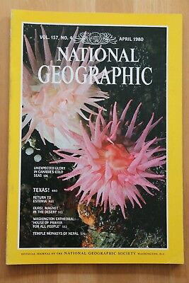 National Geographic Magazine Apr 1980Canada's cold seas, Texas