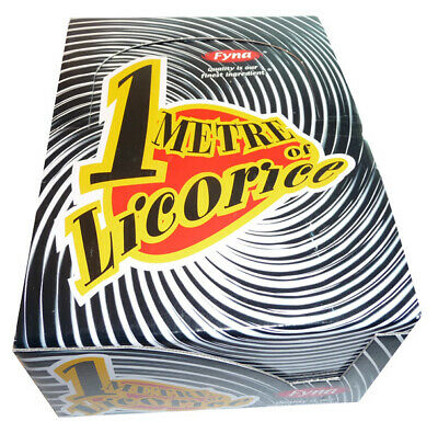 One Metre Licorice (20 x 120g)