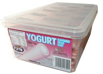 Fini Yoghurt Filled Bars - Strawberry (1.54kg - approx 150 pieces)
