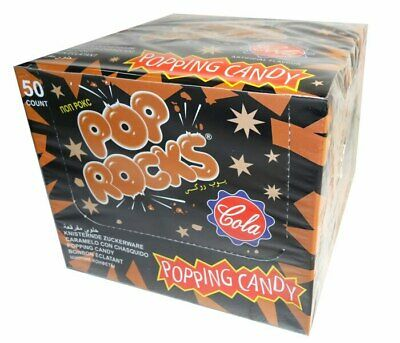 Pop Rocks Popping Candy - Cola (50 piece Display Unit)